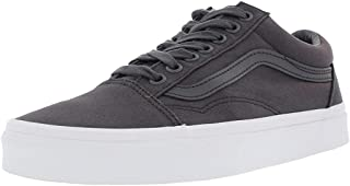 Off The Wall Old Skool Mono Canvas Sneakers (Asphalt)...