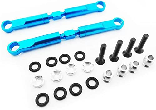 Hot Racing ECT5406 Aluminum 72mm Front Turnbuckles (Blau) - ECX 2wd