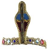 Costume Accessory - Cleopatra Egyptian Style Cobra and Jewel Headband