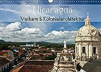 Nicaragua - Vulkane und Kolonialarchitektur (Wandkalender 2022 DIN A3 quer): Nicaragua, ein Land mit Vulkanen wie auf einer Perlenschnur und wunderschoenen Kolonialschmuckstuecken. (Geburtstagskalender, 14 Seiten )