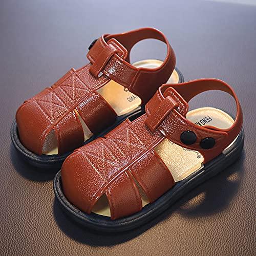 Sandalias De Color Sólido Antideslizantes con Fondo Suave Y Resistente Al Desgaste para Niños De Verano, Zapatillas, Zapatos De Playa