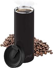 Bobble Prensa de café francesa para viajes, uso en movimiento, preparación rápida, diseño delgado, aislamiento de triple p...