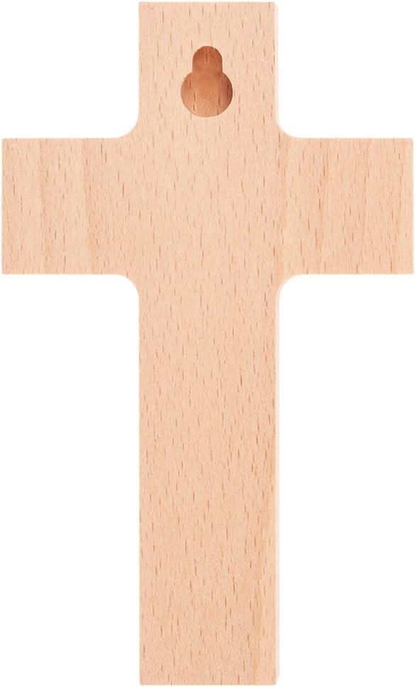Arca di Noah 15 cm Fritz Cox/® Croce in legno per bambini