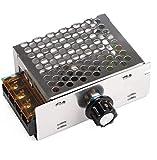 電圧調整器 電圧レギュレータ 調光器モータ スピードコントローラー 交流 調光スピードコントロール 温度ガバナパワーモニタ 調光モニター 調光器 4000W (1個セット)