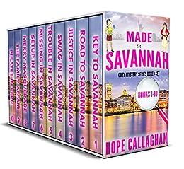 Made in Savannah Mysteries Box Set: Books 1-10 (Made in Savannah Mysteries Deluxe Box Set Book 1) by [Hope Callaghan]