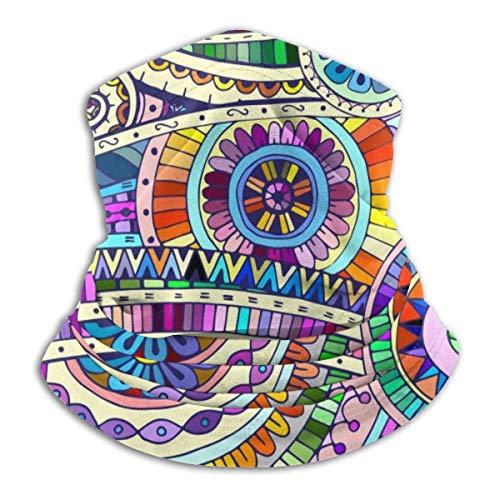 Lawenp Barco de Origami de color El calentador de cuello de dibujos animados Bandana Bufanda facial a prueba de polvo pasamontañas Sombrero a prueba de viento Polaina de cuello Headwrao