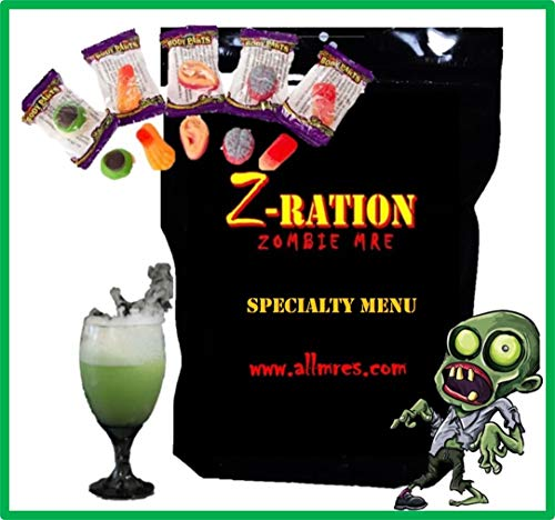 Z-Ration (Zombie MRE): SPECIALTY MENUS! Components
