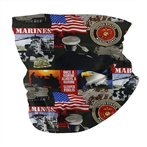 Multi-funzione per cerchietto America Marines Militare Antivento Varietà Testa Sciarpa Passamontagna Per Donne Uomini