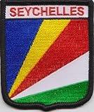 Seychellen Flagge bestickt Patch Badge