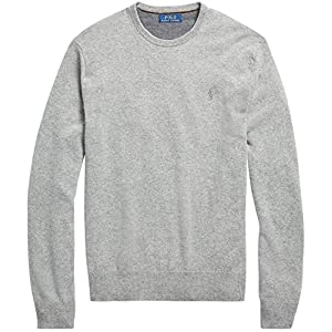 POLO RALPH LAUREN Men's Crew-Neck Wool  Sweater
