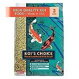 Kaytee Koi's Choice Premium Fish Food, 3-Pound Bag