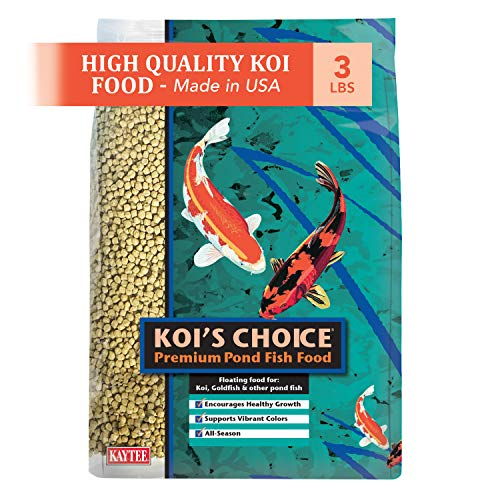 Kaytee Koi's Choice Premium Fish Food, 3-Pound Bag