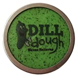 Gears Out Dill Dough Deluxe Glow-in-The-Dark Stress Reliever Putty – Stress Relief Toys for Girlfriends Pickle Gifts Stocking Stuffers for Women Adults Dill-Dough Dill Scented Weird