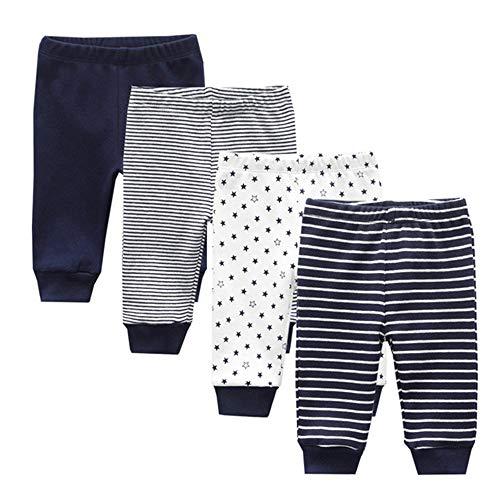 TONE Bodys Kurzarm für Neugeborene Baby Jungen und Mädchen Baumwolle 5er Pack (navy blue pants, 3-6 Months)