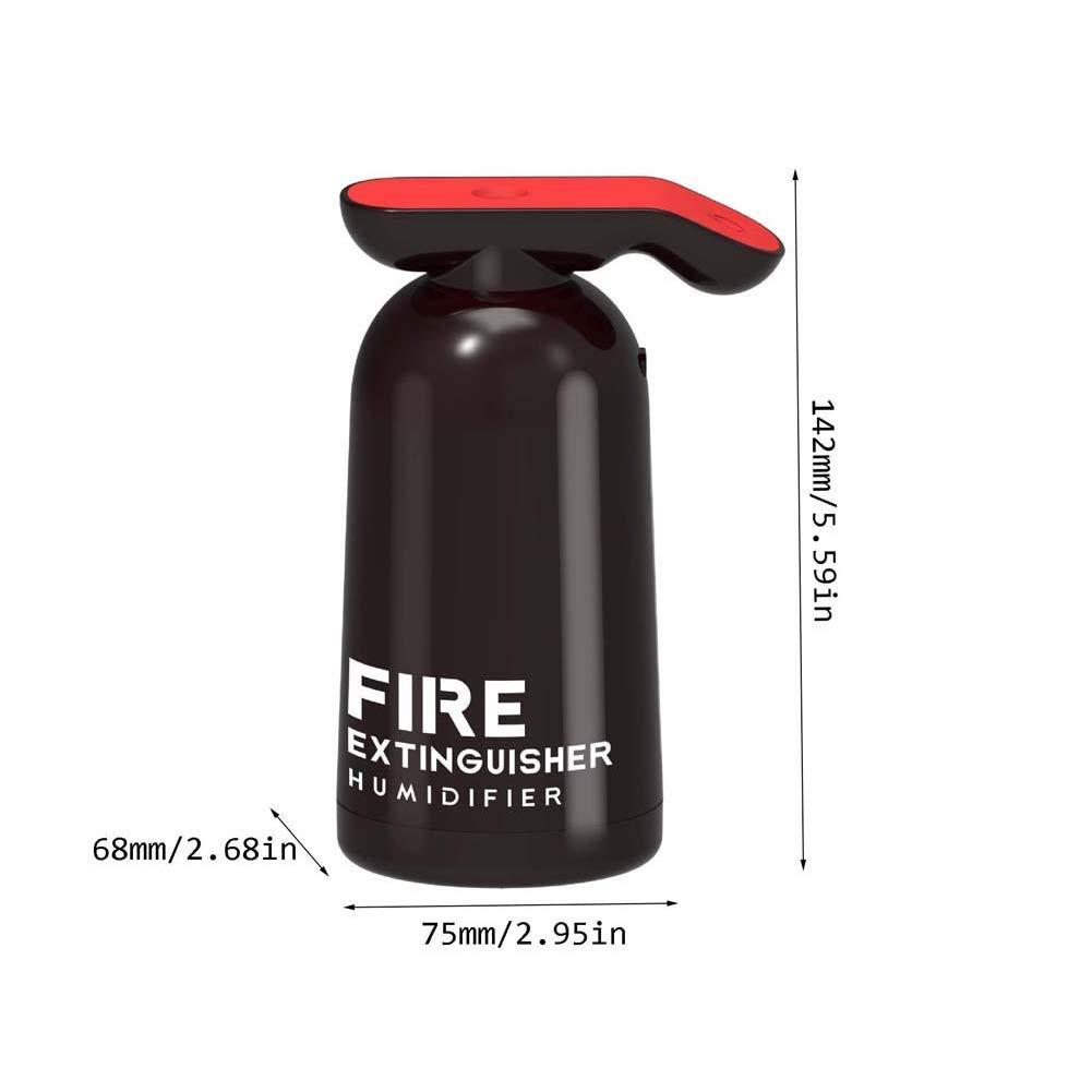 Mini USB Fuego Extintor Humidificador de Aire, Creativo Casa ...