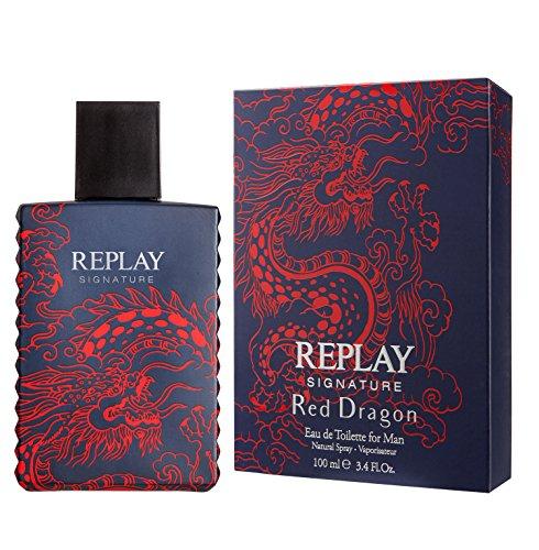 Replay Parfums Signature Red Dragon for Man Eau de Toilette ml.50 1.7 fl. oz spray