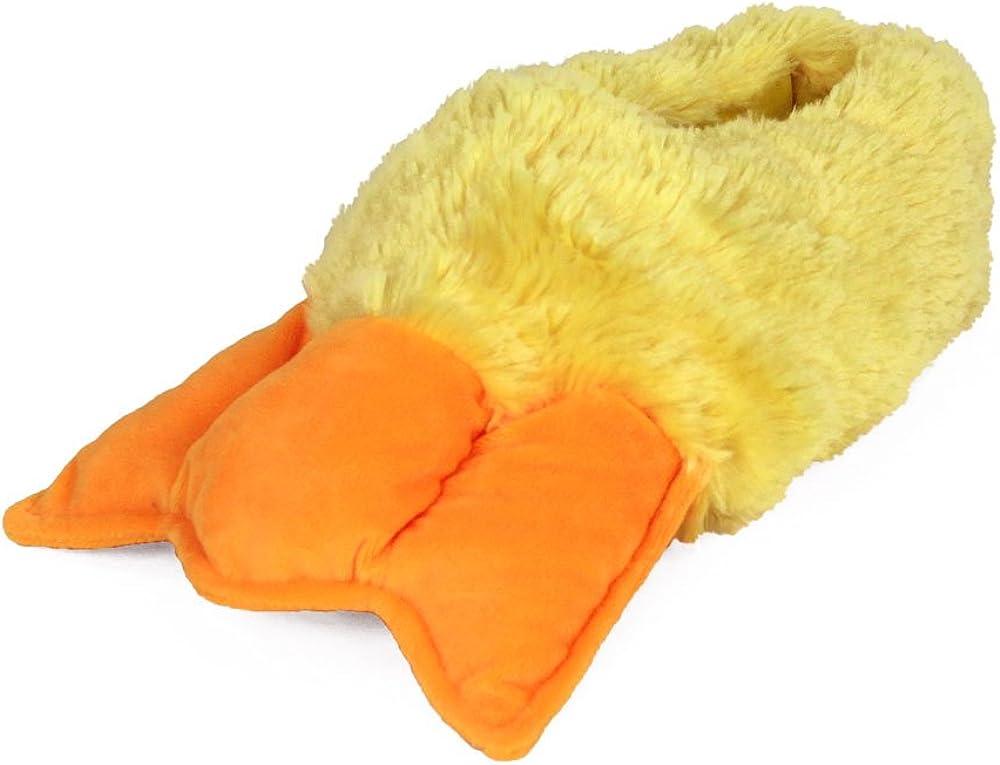 Duck Feet Slippers - Plush Bird Animal Slippers - for Home or Costume