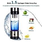 Starter Bouteille d'eau à l'hydrogène, Filtre à Eau alcaline, Machine à ioniser Portable, Tasse à Boire en Verre à hydrogène #1