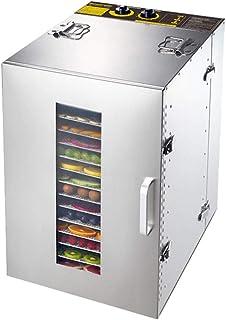 Déshydrateur de fruits, corps en acier inoxydable Électrique Séchoir à température réglable de 40 à 90 ° C pour les fruits...