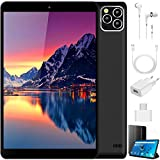 Tablette Tactile 10 Pouces Pas Cher 4G, 3Go RAM+32 Go ROM Android 9.0 Pie (Google GSM Certified) Tablette Dual SIM 8000mAh Bluetooth GPS Type-C (5.0+8.0 MP Camera) (Noir)