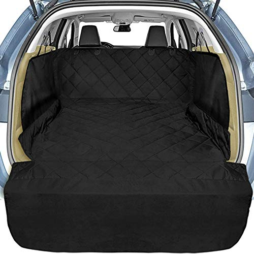 Veckle Cargo Liner, SUV Cargo Cover for Dogs with Side Flaps Hammock...