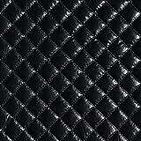 Folien Steppstoff – schwarz — Meterware ab 0,5m — zum