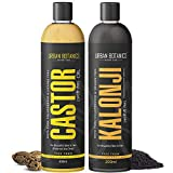 UrbanBotanics® Cold Pressed Castor Oil & Kalonji Oil For Hair Growth & Skin - 200Ml Each (COMBO PACK) hair growth serum Nov, 2020