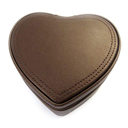 Unbekannt Davidt's [L9432] - Schmuckschatulle 'Love' braunes pulver.