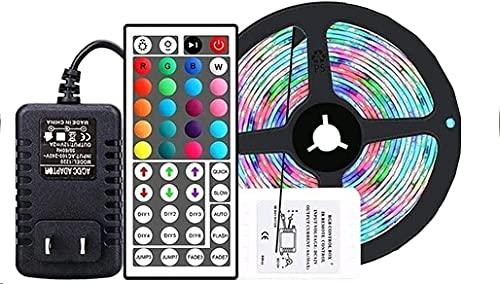 Speedrid Tira de Leds de 3m 180 Luces con Mando a Distancia de 44 Teclas, Kit de alimentación Euro, Tira de Cambio de Color RGB