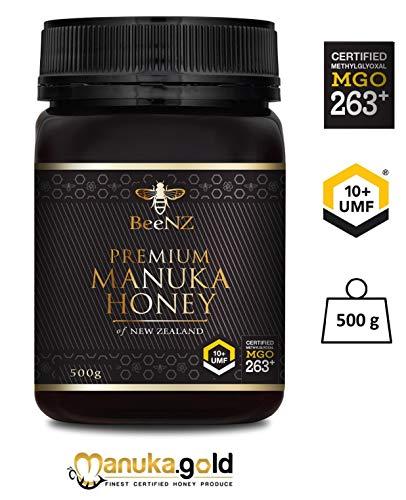 Manuka Honig BeeNZ UMF10+ MGO 263 mg/kg 1000g original und authentisch