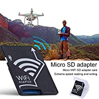 WIFI SD カード アダプタ SLR SDカードアダプタ Wifi SD TFカメラデジタルメモリーカードサポート、ために128GBメモリーカード メモリーカードスリーブ