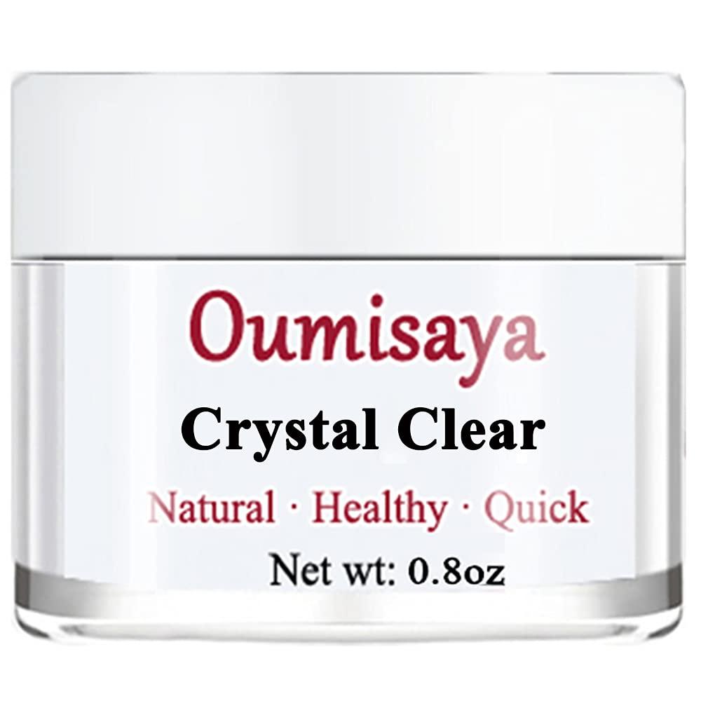 Oumisaya Crystal Clear Nail 1OZ Max 53% OFF FL.OZ Max 50% OFF Powder Dip