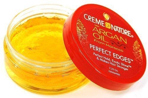 Creme of Nature Argan Oil Perfect Edges Control 2.25 oz. Jar by Creme of Nature