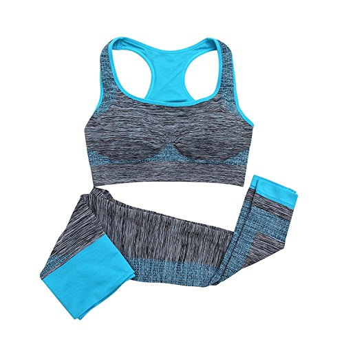 Glive's Gym Suits for Women Sports, Stretchable Breathable Cloth Set Exercise Wear for Girl Women