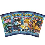 Pokemon XY Evolutions Booster Pack Lote – 1 paquete