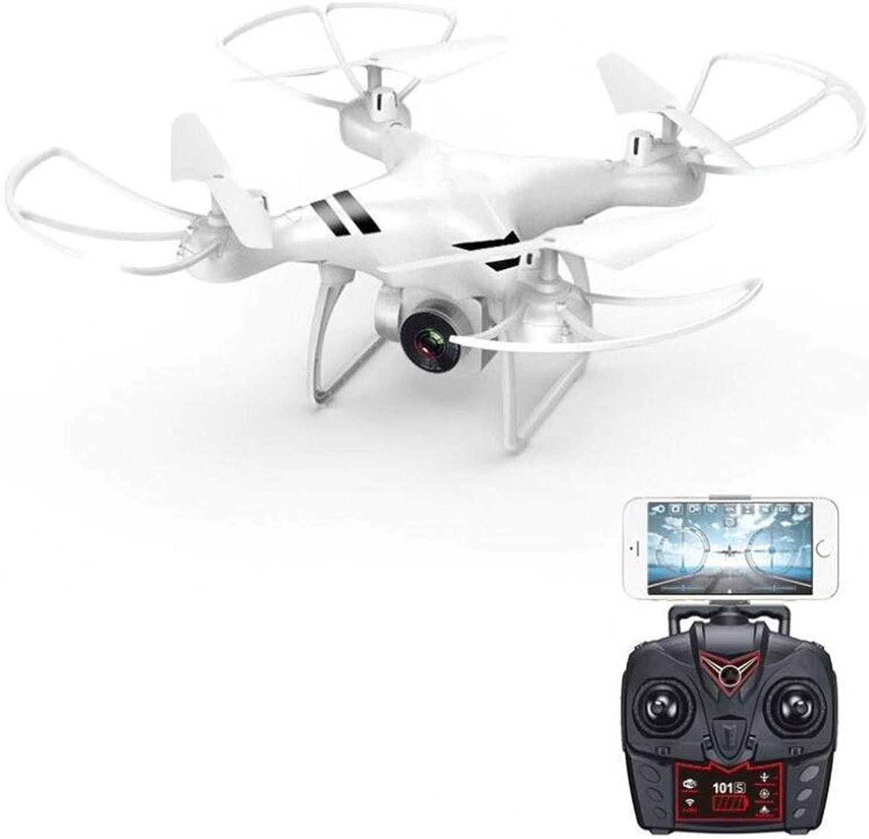 marca en liquidación de venta Drone Drone Drone Aviones de 4 Ejes, Transmisión de mapas de Alta definición WiFi Fijos-flotantes Flotador Aéreo 3D Que Vuela Aviones de Control Remoto (Color   blancoo)  suministramos lo mejor