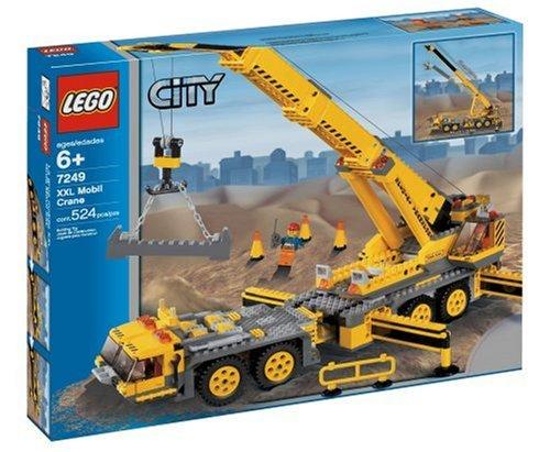 LEGO City 7249 Mobiler Baukran NEU OVP