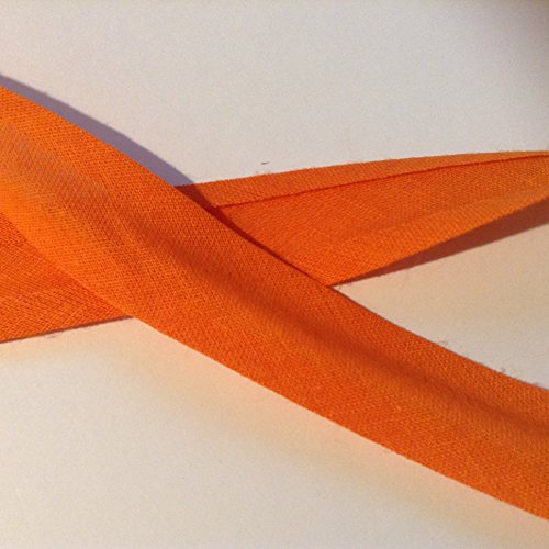 3 M x 25 mm plain Bright naranja bies cinta ideal