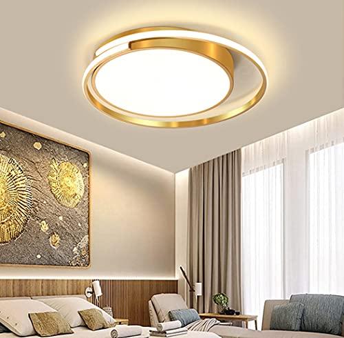 LED Camera da letto Plafoniera Moderna Anelli Lampada da Soffitto Dimmerabile Con Telecomando...