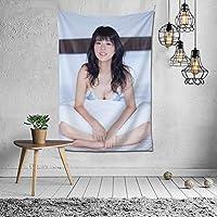タペストリー??富美加(馬場ふみか, Fumika Baba) インテリア 壁掛け おしゃれ 室内装飾タペストリー 多機能 カバー カーテン 個性プレゼント ギフト 新居祝い結婚祝い プレゼント ウォール アート 152x102cm