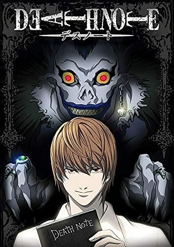 hengyuanxiang Anime Japonés Death Note Papel Recubierto Carteles Blancos Café Papel Tapiz Creativo Hogar Bar Decoración Interior 53 Estilo T879 50X70Cm