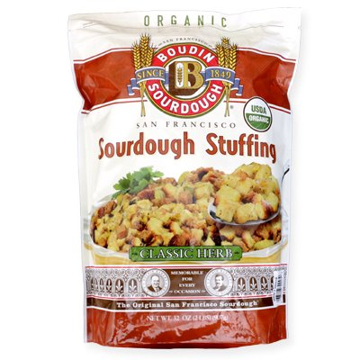 Boudin Bakery Sourdough Organic Herb Stuffing, 2 lbs