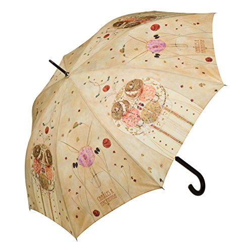 Goebel Artis Orbis 67-060-54-1 - Ombrellone in tessuto, multicolore, 12 x 4 x 88 cm, diametro 100 cm