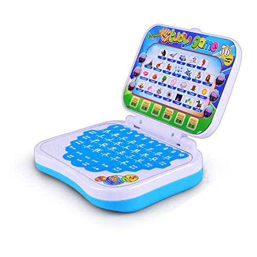 kidivo educational computer/laptop abc and 123 learning for kids with words,sounds & music (birthday return gift item)- Multi color