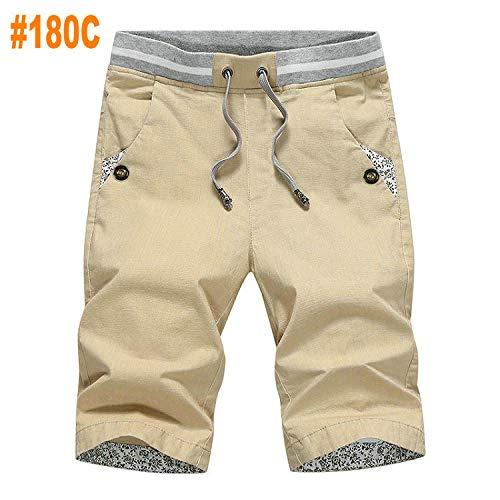 Korte broeken Heren Katoenen Zomer Casual Shorts Heren Comfortabele Strandshorts Masculina-180C_Xl