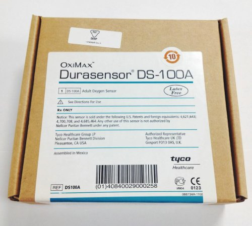 Durasensor DS-100A Adult Oxygen sensor - Latex free by NELLCOR