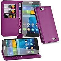 Cadorabo Funda Libro para Huawei G7 en Violeta DE MANGANESO – Cubierta Proteccíon con Cierre Magnético, Tarjetero y Función de Suporte – Etui Case Cover Carcasa