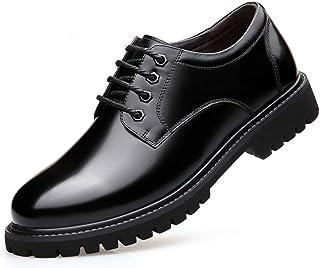 [WEWIN] 革靴 ビジネスシューズ メンズ 本革 紳士靴 スニーカー ウォーキング 靴 カジュアル 厚底 防滑 通気 柔らかい