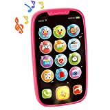 HOLA Baby Cell Phone Toys for 1 Year Old Girl, My First...