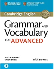 Grammar and Vocabulary for Advanced Book with Answers and Audio: Self-Study Grammar Reference and Practice
